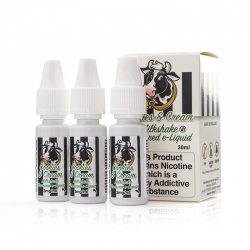 Eco Vape Cookies and Cream V2 Milkshake High VG E-Juice - Money Off!
